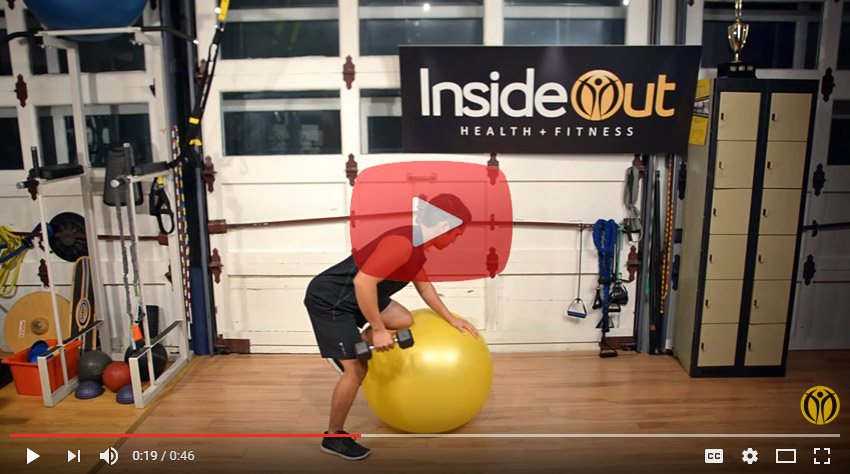 TRAINING AT INSIDE OUT FITNESS